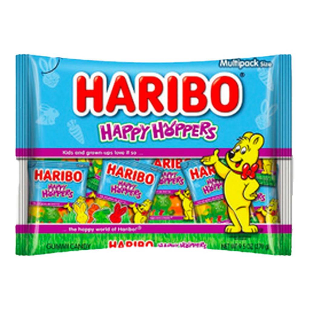 Haribo Easter Gummy Bunnies in Mini Bags 9.5 oz