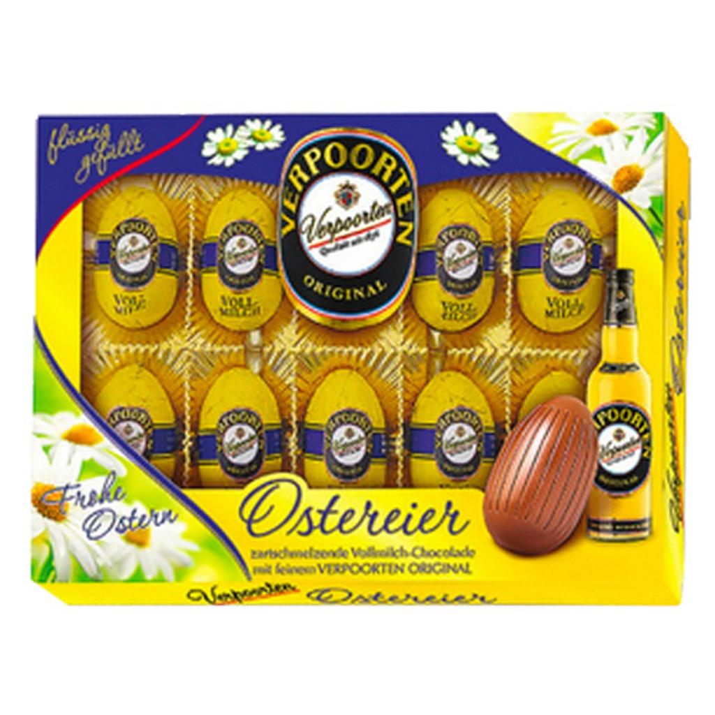Verpoorten Easter Chocolate Eggs Filled with Brandy Eggnog 7.6 oz.