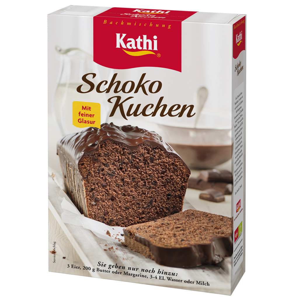 Kathi German Chocolate Pound Cake with Dark Cocoa Glaze Baking Mix  16.2 oz