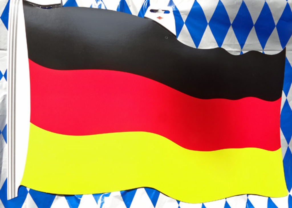 "German Large Flag Cutout (12"" x 17"")"