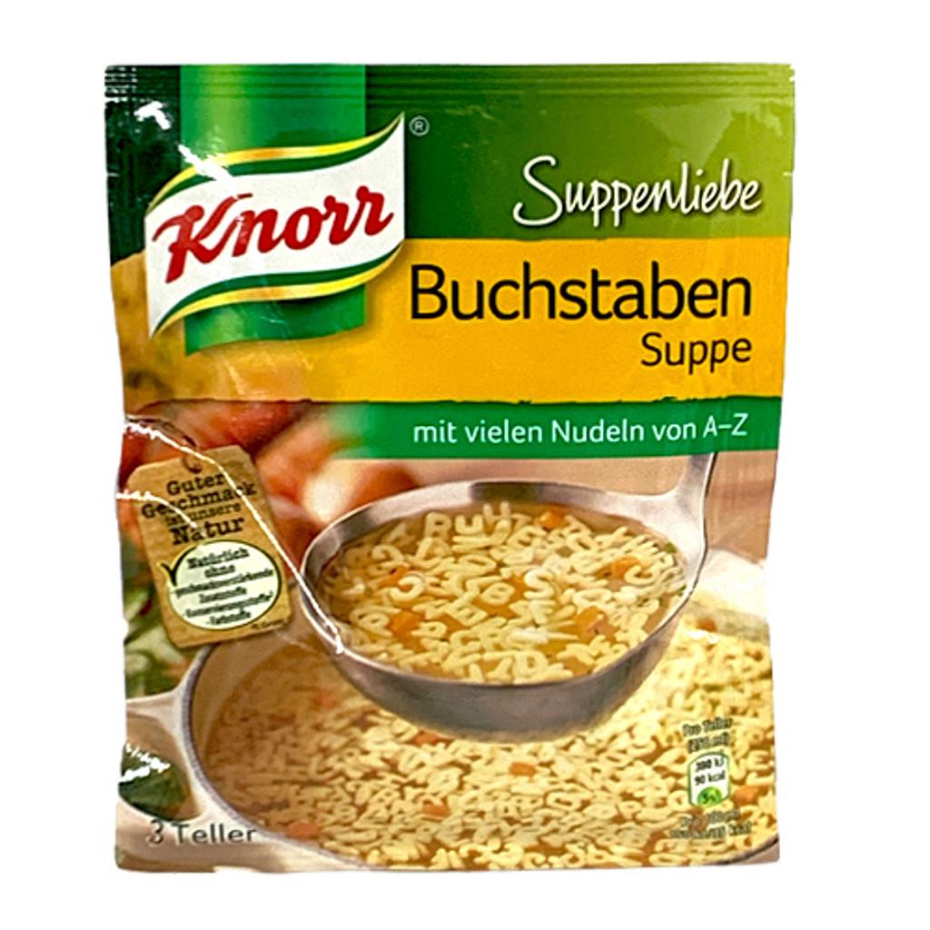 """Knorr """"Suppenliebe"""" Alphabet Noodle Soup, 2.9 oz"""