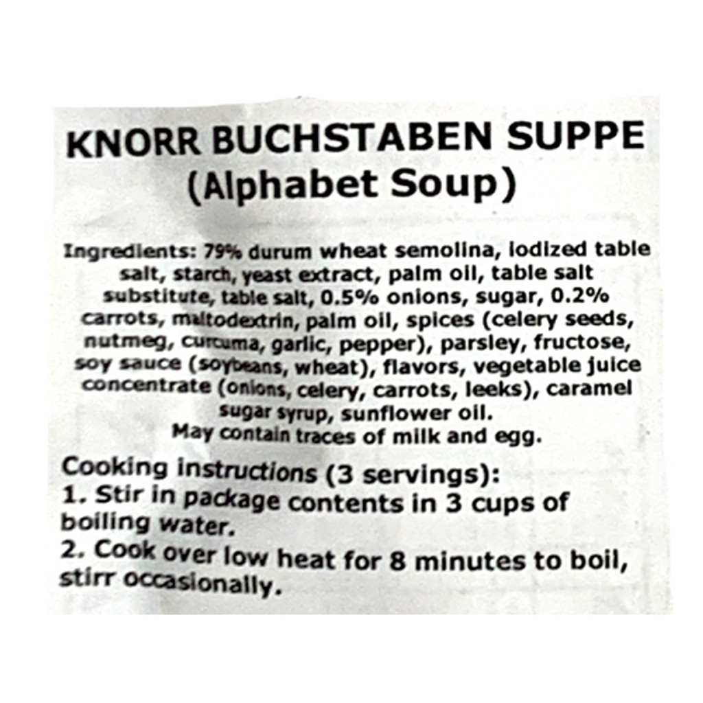 """Knorr """"Suppenliebe"""" Roasted Onion Soup, 2.9 oz"""