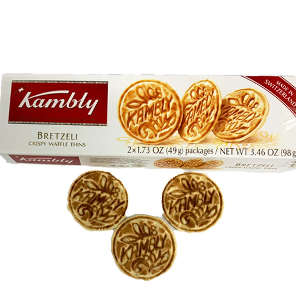 Kambly Bretzeli Crispy Waffle Thins, 3.5 oz