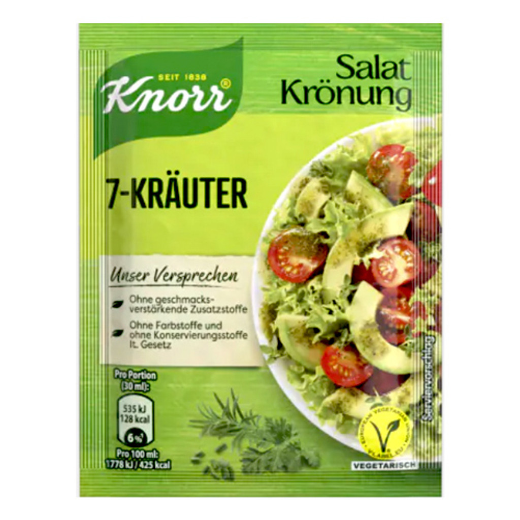 "Knorr ""Salatkrönung"" 7-Herb Dressing Mix, 5 pack"