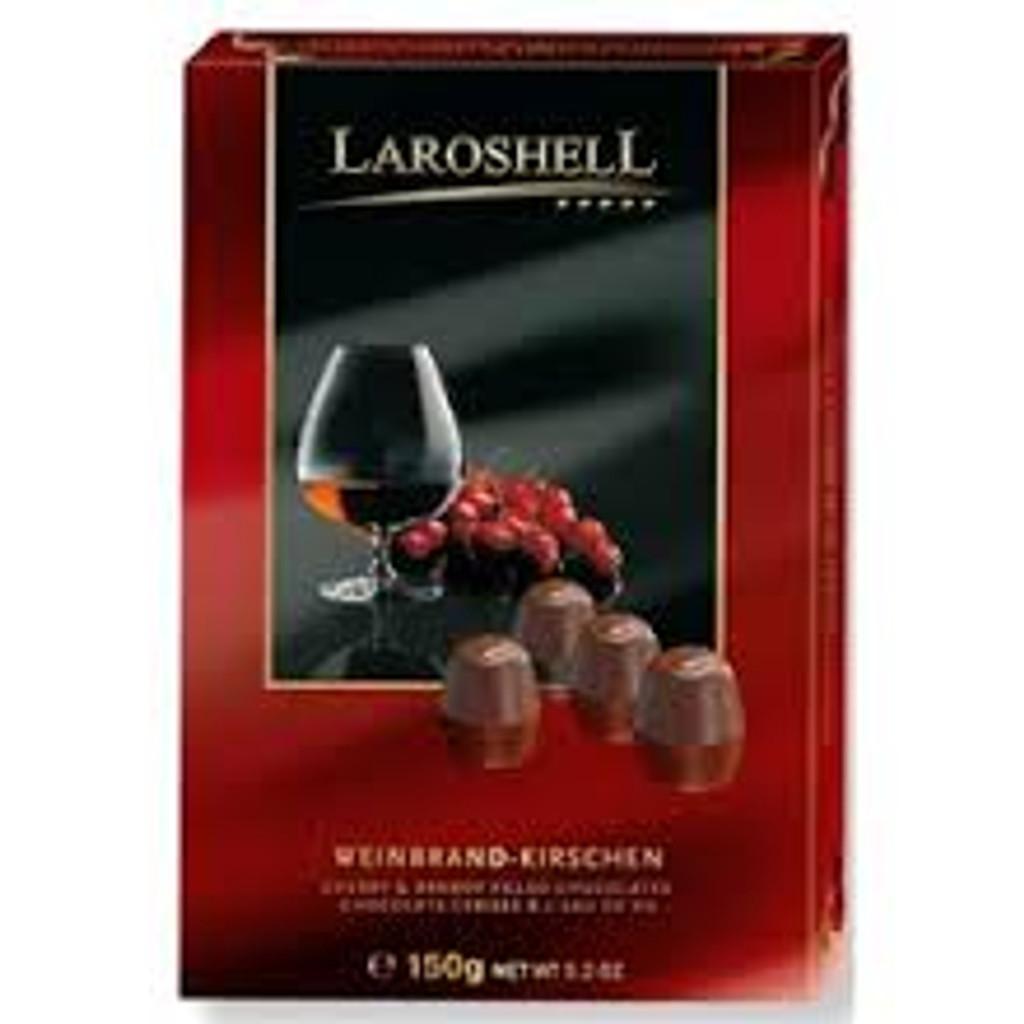 Halloren Laroshell Brandy & Cherry Chocolate beans