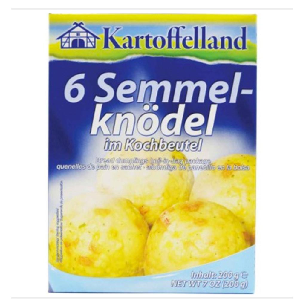 Kartoffelland 6 Bavarian Style Bread Dumplings Boil in Bag