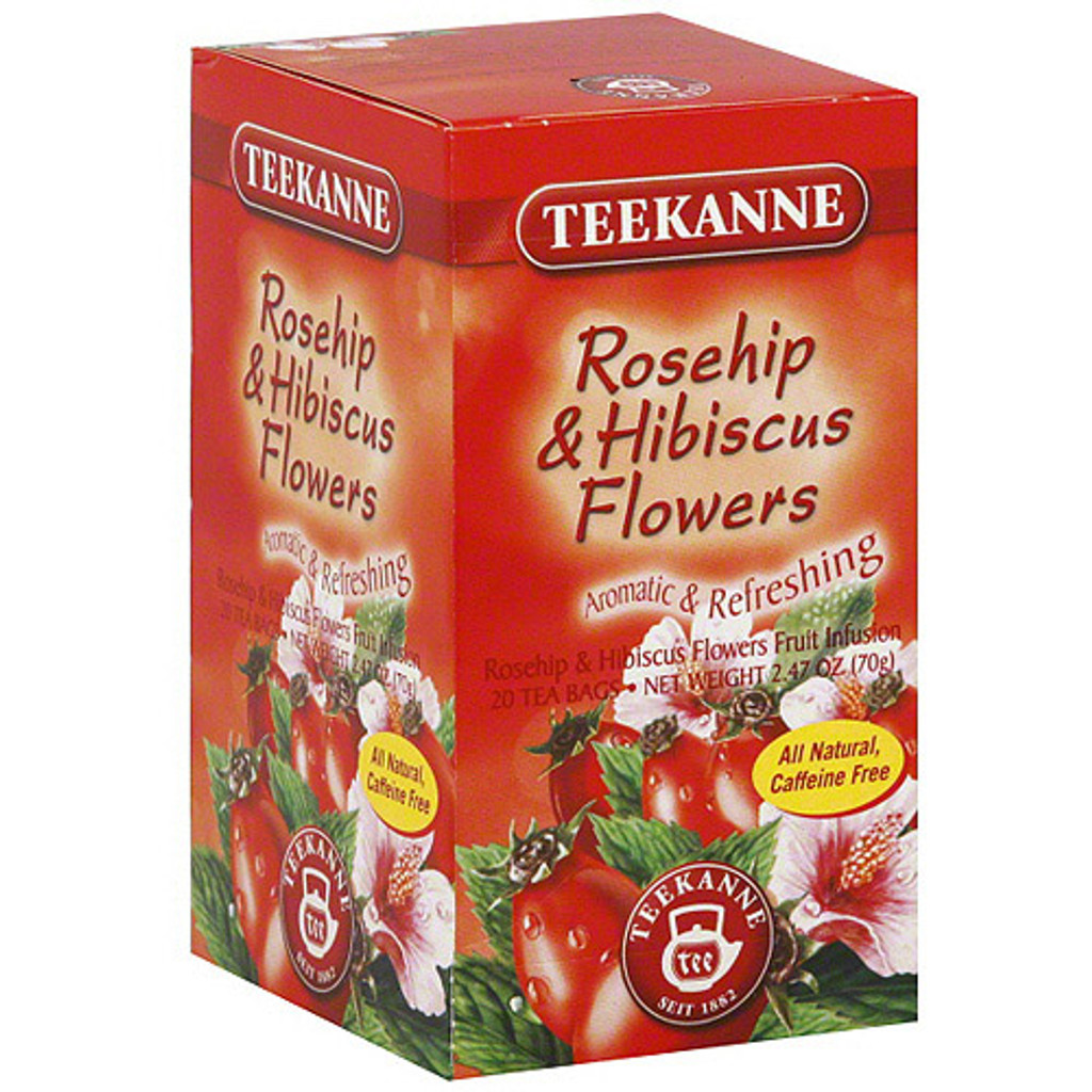 Teekanne Rosehip With Hibiscus Tea