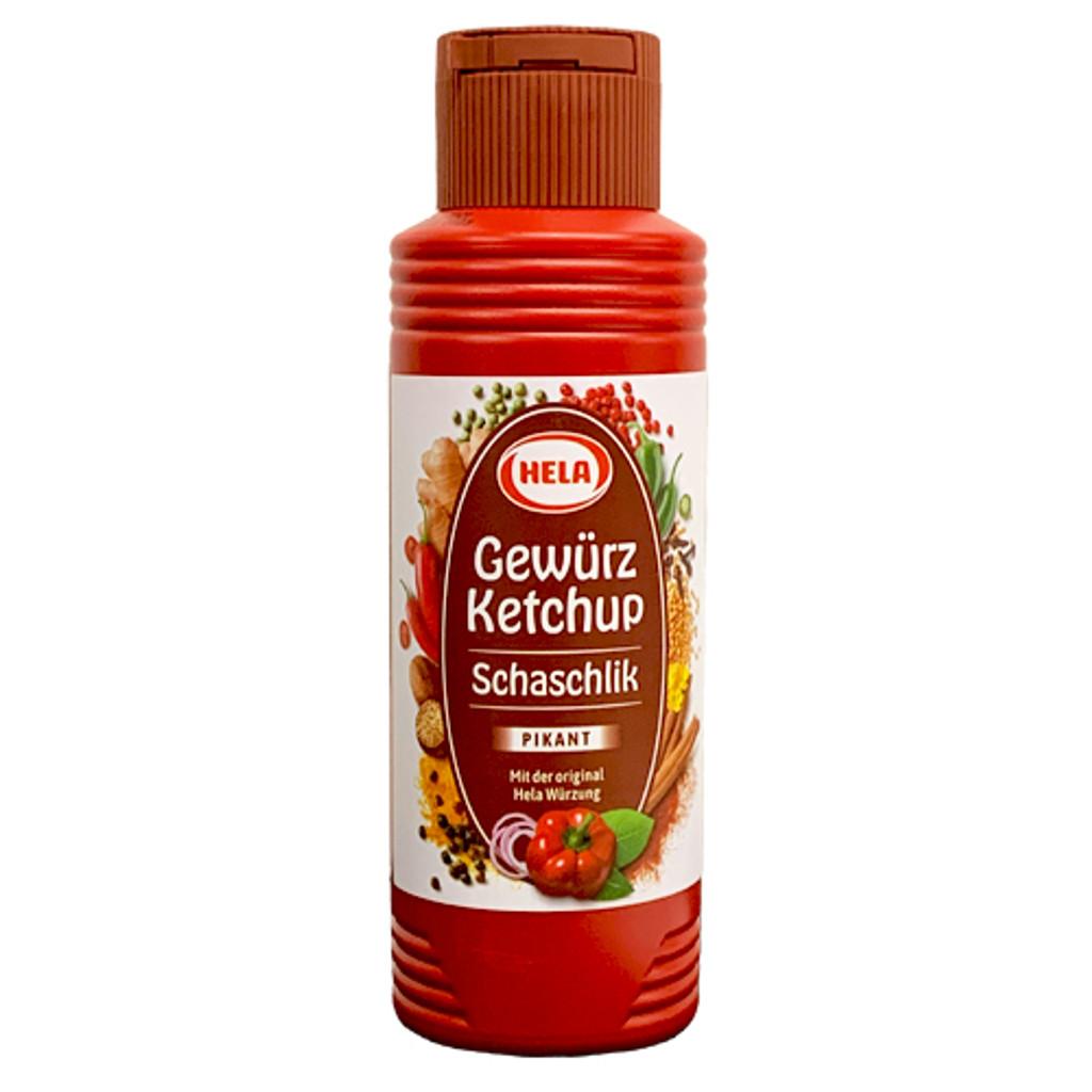 Hela Schaschlik (Kebob) Curry Ketchup  10.1 oz
