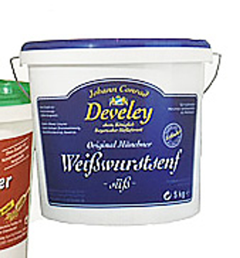 Develey Munich Sweet Mustard 11 lbs. Food Service