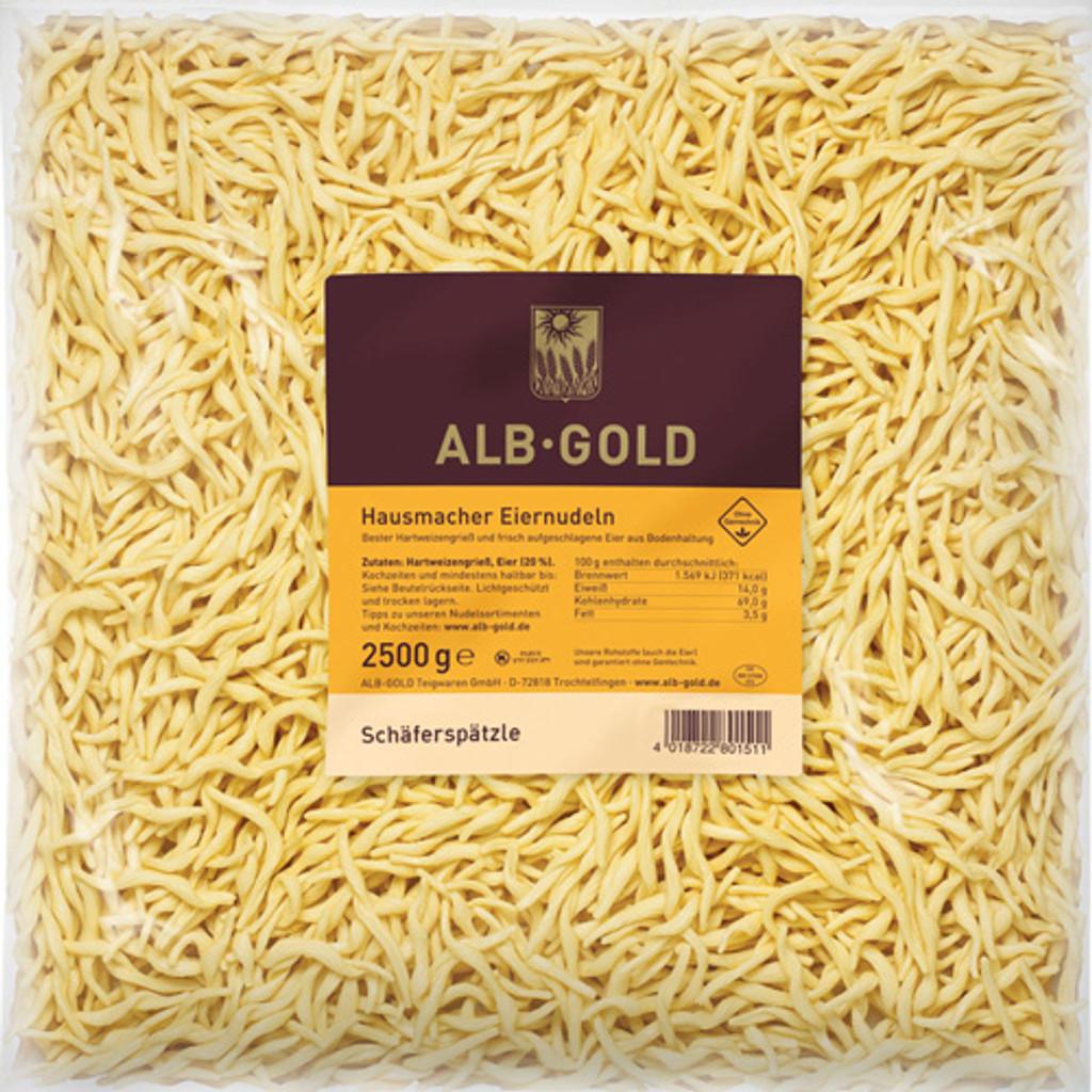 Alb Gold Shepherds Spaetzle 5.5 lbs Food Service Pack Case of 4