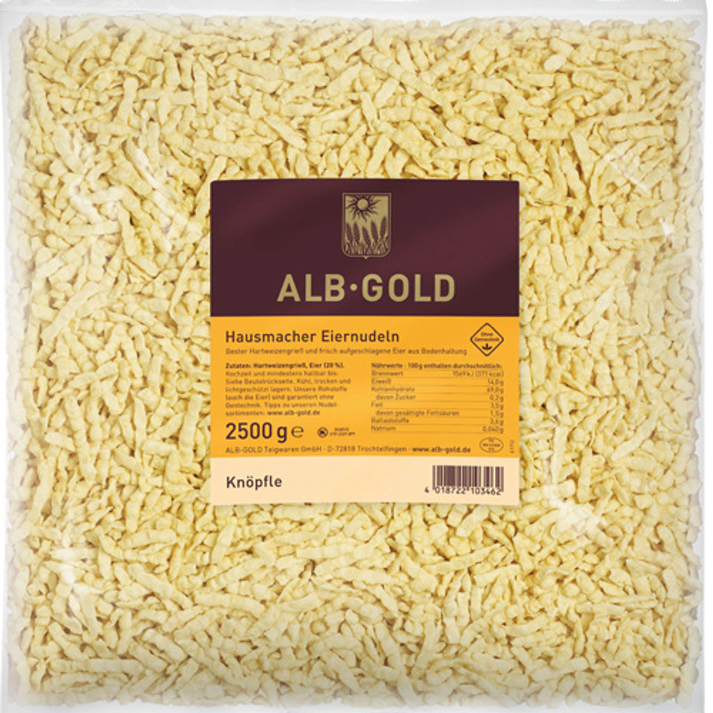 Alb Gold Knoepfle Spaetzle 5.5lbs Food Service Case of 4