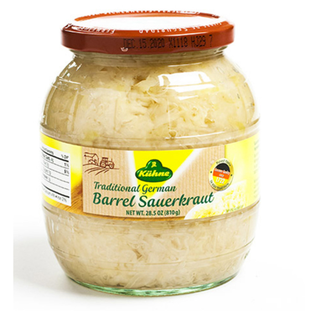 Kuehne German Barrel Sauerkraut in Jar