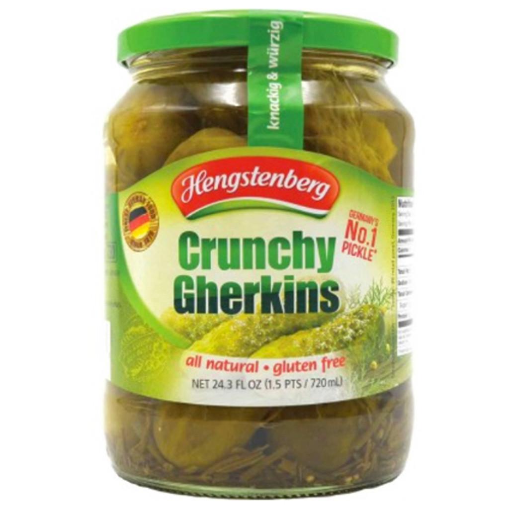Hengstenberg Knax Crunchy Gherkins 24 oz.