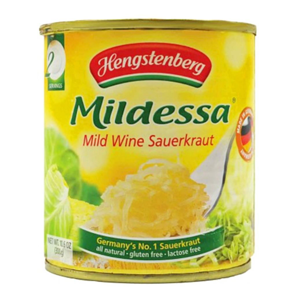 Hengstenberg Mildessa Wine Sauerkraut in Tin