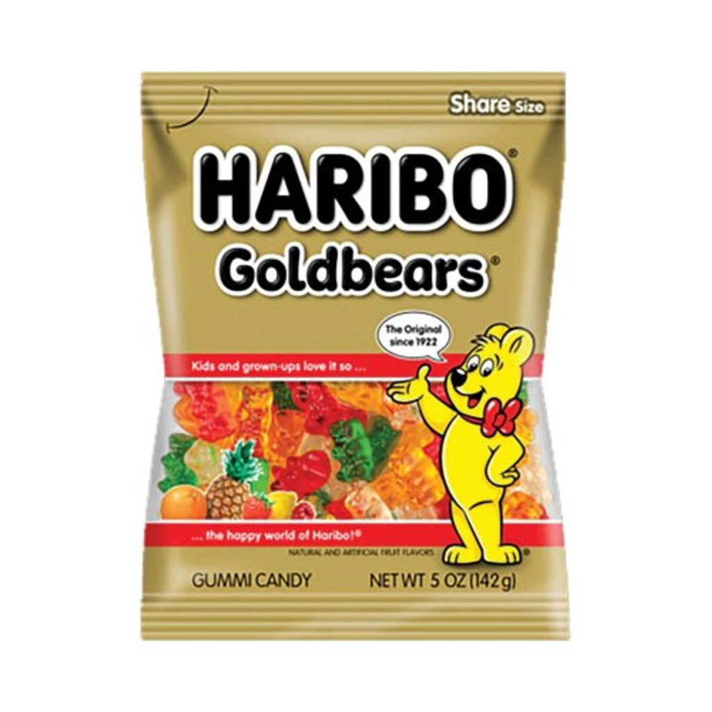 Haribo Gold Bears Gummies in Bag