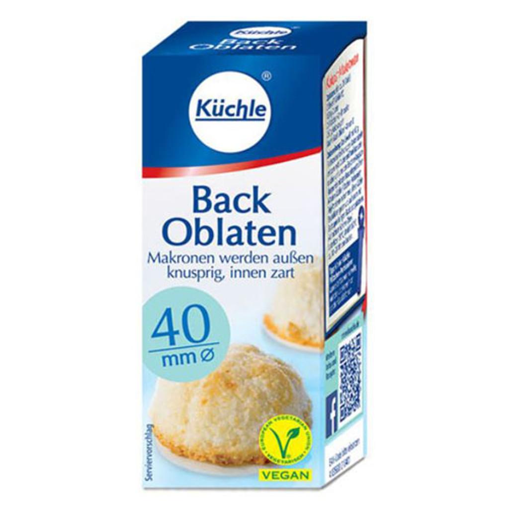 Kuechle Oblaten Round Baking Wafers 40mm 0.8 oz