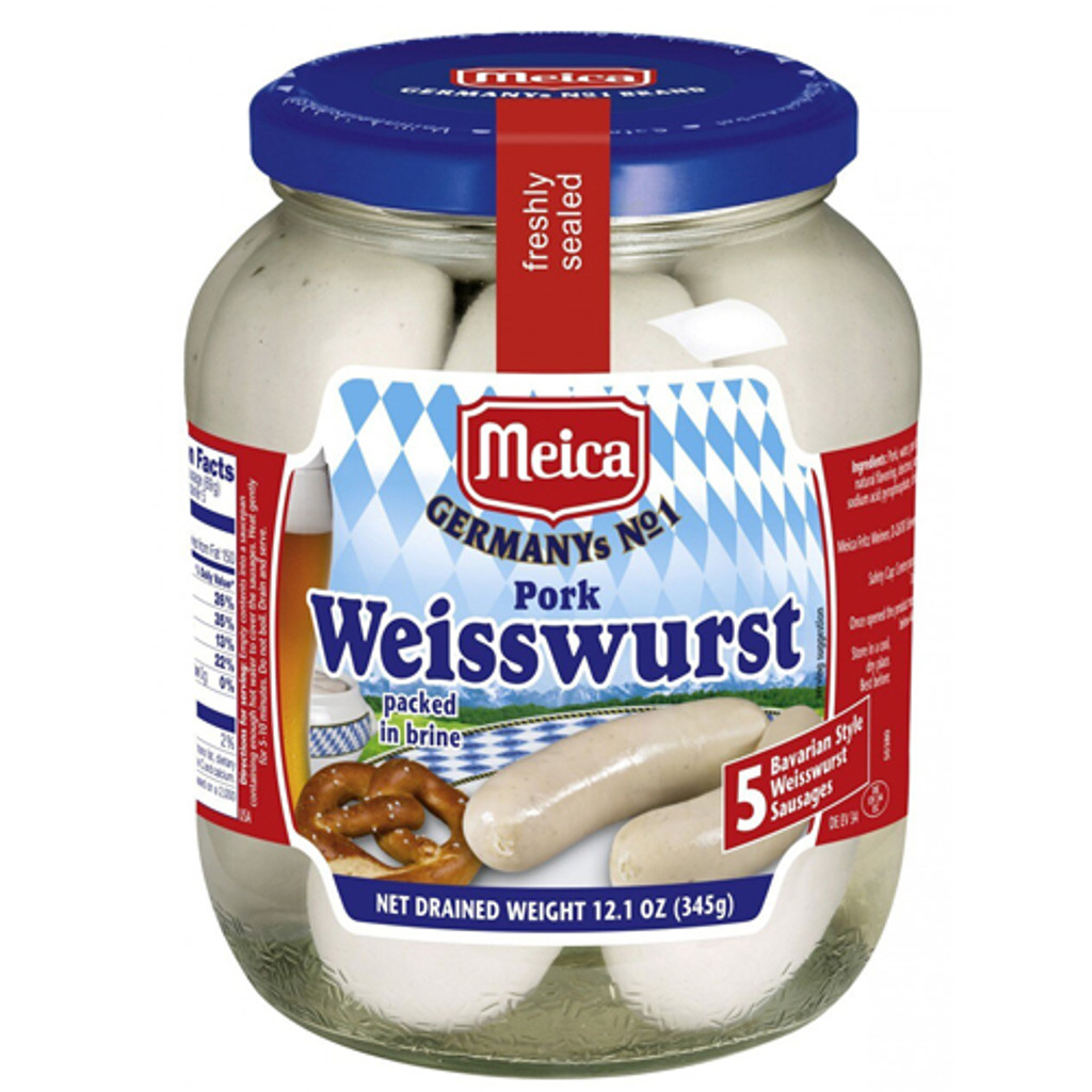 Meica Authentic Bavarian Weisswurst