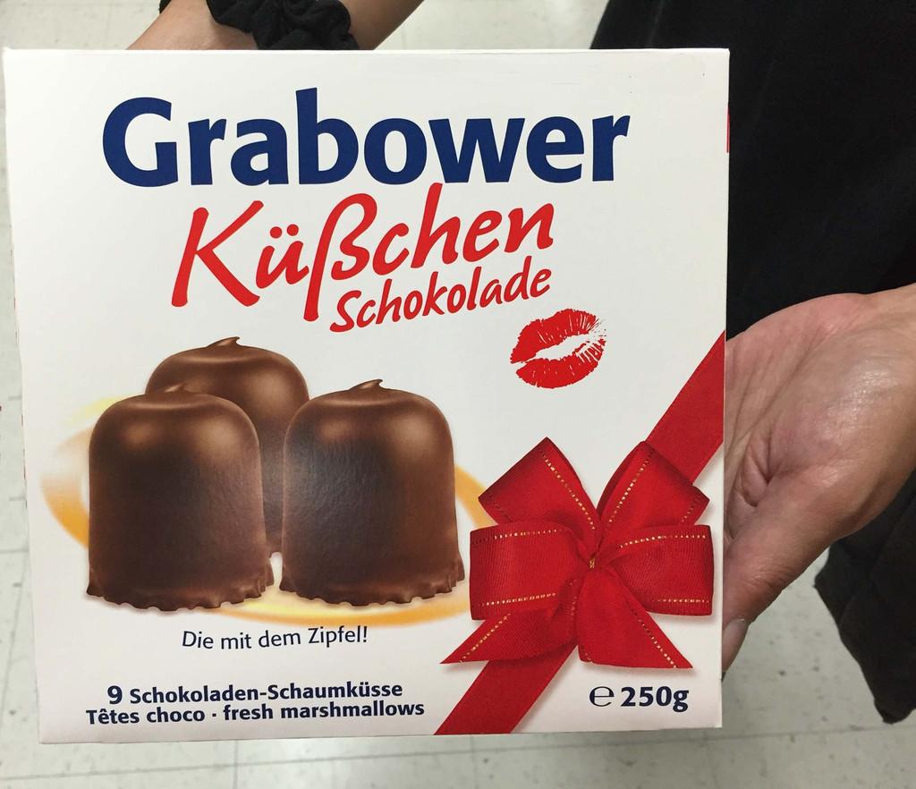 Topkuss Dark Chocolate Marshmallow Kisses 9 pc. 8.8 oz Extra Large