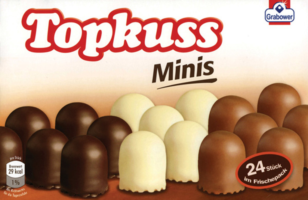 Topkuss Chocolate Marshmellow Kisses (4 units)