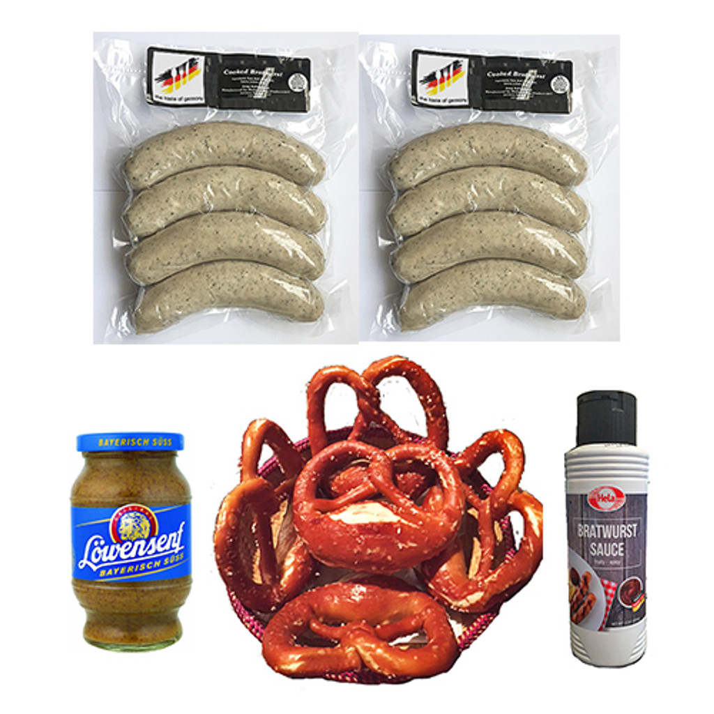 The Taste of Germany Sausage and Pretzel Collection
