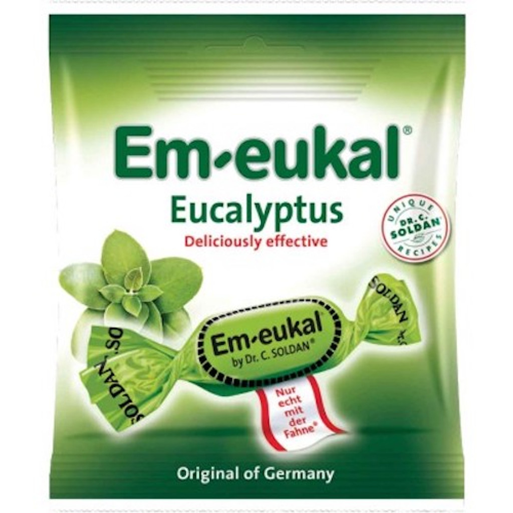Dr. Soldan Eucalyptus Lozenges in Bag