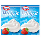 Dr. Oetker Whip-It Whipped Cream Stabilizer 2 Packets 0.6 oz