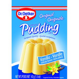 Dr. Oetker Vanilla Pudding Mix 3 Packets 1.5 oz per packet