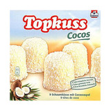 Topkuss White Chocolate Coconut Marshmallow Kisses 9 pc 7.9 oz