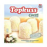 SPECIAL: Topkuss White Chocolate Coconut Marshmallow Kisses 9 pc 7.9 oz