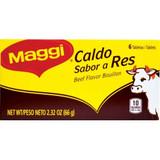 Maggi Beef Bouillon Tabs 6 ct