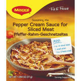 Maggi German Pfefferrahm Pepper Cream Sauce Mix