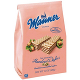 Manner Cream Filled Hazelnut Wafers in Bag
