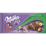 Milka Crushed Hazelnut Chocolate Bar