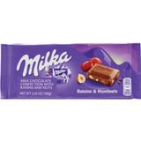 Milka Raisins & Nut Chocolate Bar