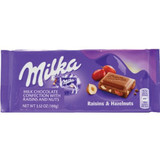 Milka Raisins & Nut Chocolate Bar