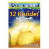 Kartoffelland 12 Bavarian-style Potato Dumplings Half and Half