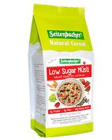 Seitenbacher Whole Grain Muesli with Strawberries, Low Sugar, 16 oz.