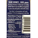 Breitsamer Bee Buddy German Acacia Blossom Honey 8.8 oz in squeeze bottle