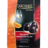 Laroshell Orange Liqueur Filled Chocolate Pralines 5.3 oz