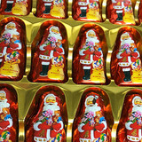 Buy a whole case of Niederegger Chocolate Covered Marzipan Santas