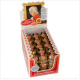 Reber Mozart Kugel Chocolate Covered Marzipan in Counter Display