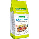 Seitenbacher # 3 For Active People All Natural Muesli Cereal  with Tropical Fruits 16 oz