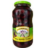 Landsberg Sour Morello Cherries in glass jar 24 oz.