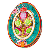 Reber Luxury Marzipan Chocolate Easter Eggs in Oval Gift Pack 4.9 oz