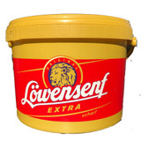 Lowensenf Extra Hot Mustard Pail 5.5 lbs