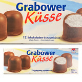 Topkuss Chocolate Marshmallow Kisses 12 pc. large 10.6 oz