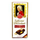 Reber Mozart Dark Chocolate Bar with Marzipan Filling 3.5 oz.