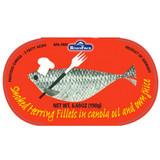Ruegenfisch Smoked Herring in Canola Oil