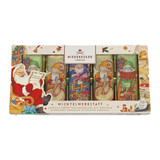Niederegger Chocolate Covered Marzipan Bars in Elves Workshop Gift Pack 5.9 oz