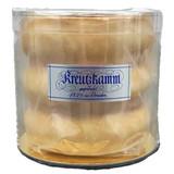 Kreutzkamm Dresdener Baumkuchen with White Chocolate Glaze and Marzipan 10.6 oz